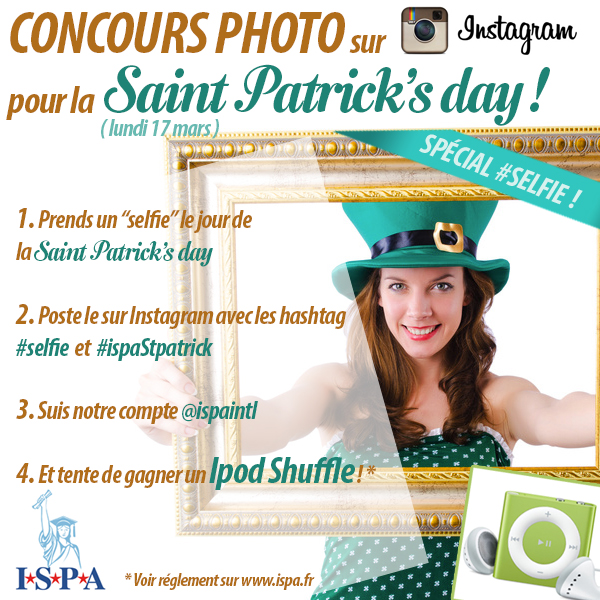 St Patrick\'s day concours ISPA