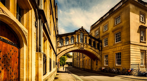 Cours danglais à Oxford