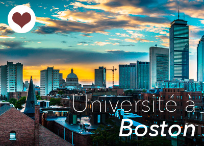 Promotion pour Boston programmes universitaires